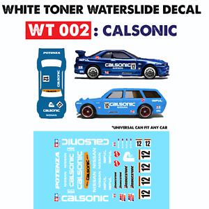 Wt002 White Toner Waterslide Decals For Custom 1 64 Hot Wheels Ebay