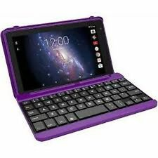"BRAND NEW RCA 7"" Tablet 16GB Quad Core includes Keyboard / Case PURPLE"