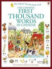 First Thousand Words in Chinese by Heather Amery (Paperback, 2014)