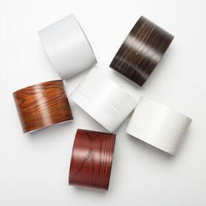 5M Self Adhesive Wall Skirting Border Wallpapers Watertight Wood Grain Baseboard