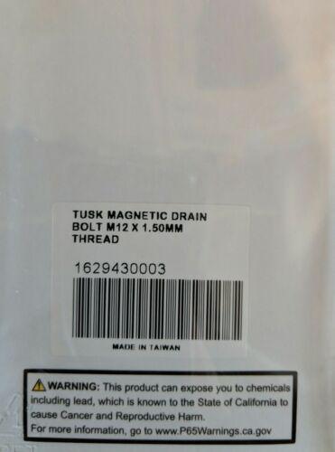 Tusk Magnetic Oil Drain Plug Bolt M12 x 1.50mm Yamaha Yz125 1984–2004