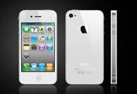 Apple iPhone 4 - 8GB - Schwarz/Weiß (Entsperrt) - Durchschnittlich Kondition