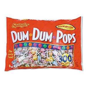 Image Is Loading Dum Pops 300 Lollipops Large Bag Ers