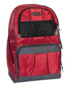 ***HELMET BACKPACK /  SKI BOOT BAG  - RED ***