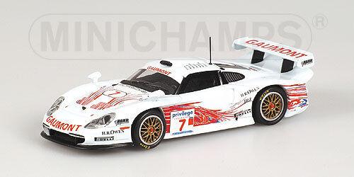 PORSCHE 911 GT1 di British GT CHAMPIONSHIP 1999