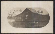 REAL PHOTO Postcard MERRIFIELD Minnesota/MN  Long Lake Moerche Cottage 1910's