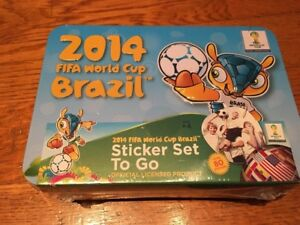 NEW 2014 FIFA World Cup Brazil Sticker Set To Go (80+ Stickers) Free ... b863d8e8d