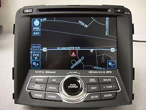 2013 2014 2015 HYUNDAI SONATA INFINITI OEM GPS NAVIGATION CD RADIO 965604R7004X