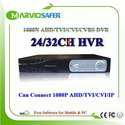 24CH 32CH 24 32 Channels 1080N AHD TVI CVI DVR 5 in 1 XVR Support 1080P HDMI