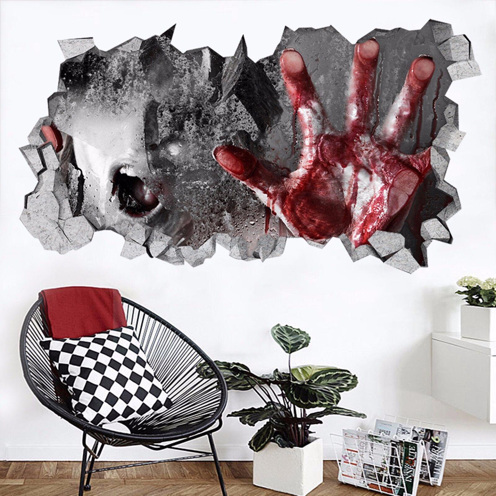 3D bluet Palm 7545  Mauer Murals Mauer Aufklebe Decal Durchbruch AJ WALLPAPER DE