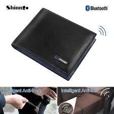 Anti-theft smart Genuine Leather Men's wallet Bluetooth Anti-Lost Alarm Tracker