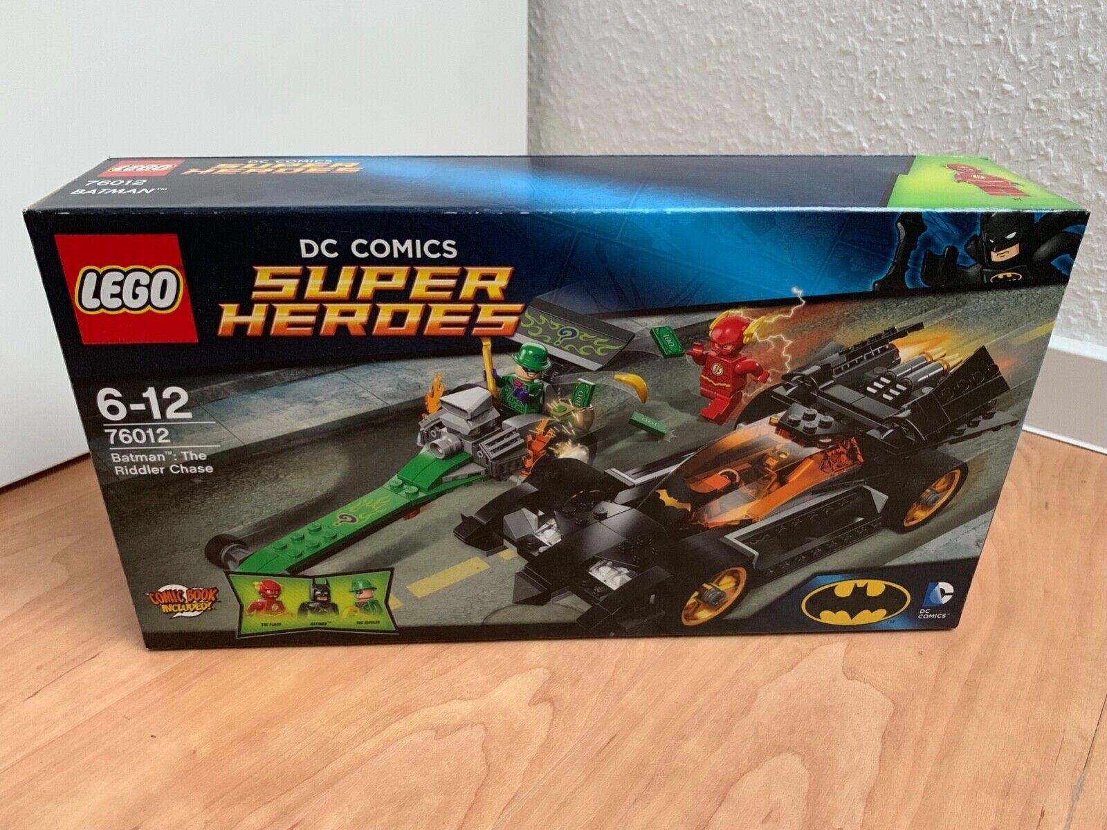 LEGO ® DC Comics Super Heroes Batman The Riddler Chase   76012   NEU & OVP