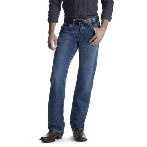 Ariat Mens Jeans M5 Boundary Gulch Slim Straight Low Rise Brand New 10014010