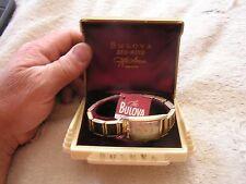 Vintage Bulova Duo Wind Watch with Original Box L1