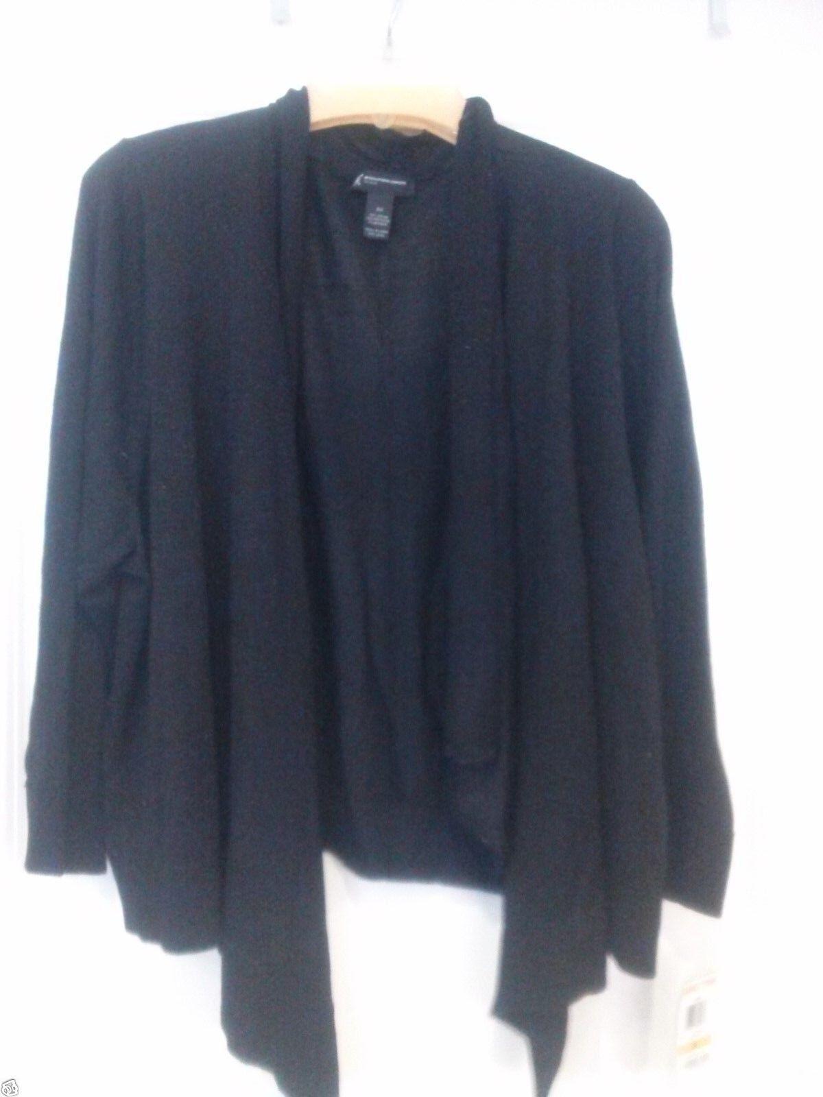 INC International Concepts Plus Three-Quarter Sleeve Metallic Cardigan 2X  NWT