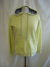 Ladies Jumper - Soulcal, size 10, acid yellow, hooded, sweater, casual - 7925
