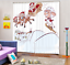 3D Animal snow7 Blockout Photo Curtain Printing Curtains Drapes Fabric Window AU