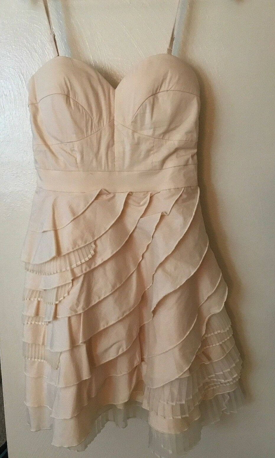 NEW ModCloth Minuet-brand Dress w  Lining and Removable Straps, Size S