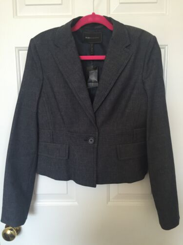 Suit Indigo Max M Størrelse Azria Blazer Nwt Bcbg Jakke Blå Z1Xvq