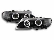 BMW 3 E46 Estate/ Sedan / Touring 2002-2005 Black Ring Angel Eyes Headlights RHD
