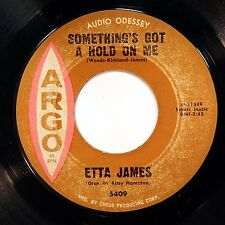 HEAR Etta James 45 Somethings Got A Hold/Waiting CHESS 5409 northern soul R&B