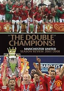 SOCCER - THE DOUBLE CHAMPIONS - MANCHESTER UNITED - New Sealed DVD - ALL REGIONS