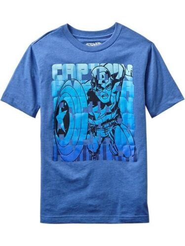 NEW Old Navy MARVEL Superhero Tee Tees T-Shirt Hulk Iron Man Captain Spider-Man