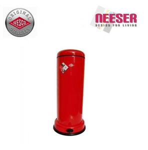 wesco big baseboy abfalleimer m lleimer retro in rot 135731 02 ebay. Black Bedroom Furniture Sets. Home Design Ideas