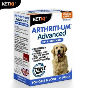 Mark-ChappellVetIQ-Arthriti-Um-Advanced-Joint-Hip-Mobility-Cat-Chien-45-Tablets
