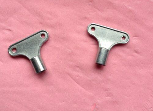1 Radiator Air Vent Key Rad Zinc Alloy Solid Bleed Plumbing Tool Valve Heating