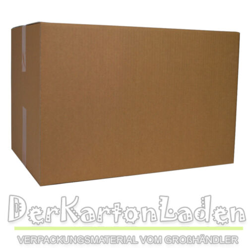 40 Basic Faltkarton 600 x 400 x 400 mm Versandschachtel Kartons C Welle