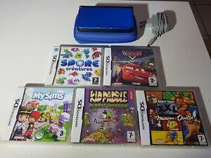 Console Nintendo 3DS XL + 5 Jeux + Chargeur + Pochette