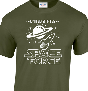 3fcdf0956 SPACE FORCE T-shirt funny star wars spaceballs trump nasa Unisex ...