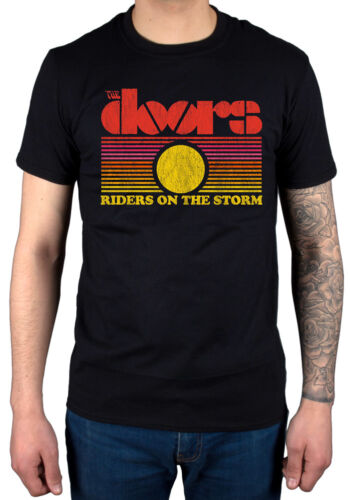 Official The Doors Rots Sunset T-Shirt You Make Me Real LA Woman Riders On The
