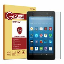 Tempered Glass Screen Protector for Amazon Kindle Fire HD 8 Inch 2016 6th Gen