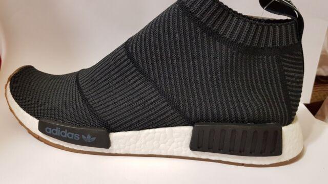 Adidas NMD CS1 Black Gum City Sock Primeknit PK Boost Ultra BA7209 Mens