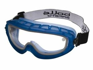 8c14979df87d3a Bolle Atom Safety Goggles Clear Sealed ATOEPSI Over Glasses Rubber ...
