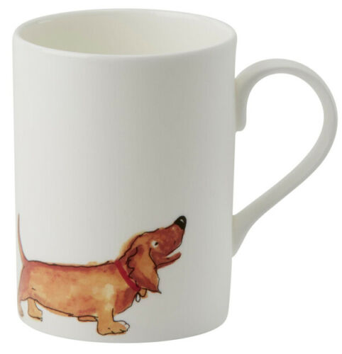 Roy Kirkham Lucy Mug Brown Dachshund Tea Coffee Animals Dogs Drinks Home