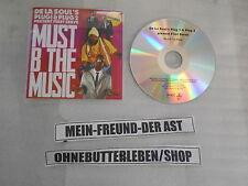 CD Hiphop De La Soul - First Serve - Must B The Music (4 Song) Promo PIAS