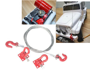 Rc-Body-Rope-and-Hook-Scale-Accessories-For-Hpi-Rc4wd-Losi-Associated-Arrma
