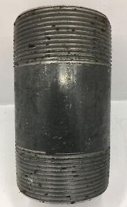 66481 FASTENAL 2-INCH  x 4-INCH Schedule 40 Black Steel Welded Pipe Nipple