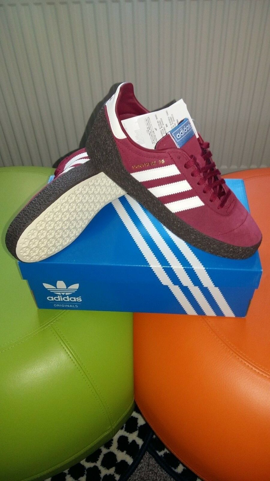 Adidas Montreal 76  originals.. Terrace classics..trainers size 10 uk eur 44 2 3