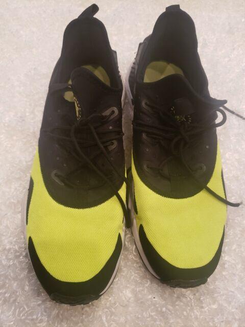 Size 11 - Nike Air Huarache Drift Black Volt