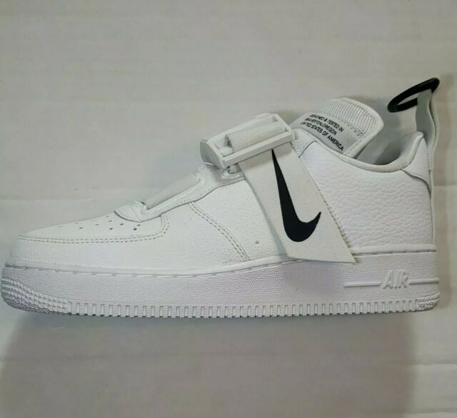 Size 6 - Nike Air Force 1 Utility White Black for sale online   eBay