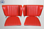 Back-Seat-Emergency-Seats-Child-039-s-Seat-Fits-Porsche-911-912-Red-New thumbnail 1