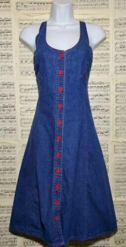 Vintage 1970s Landlubber Denim Dress