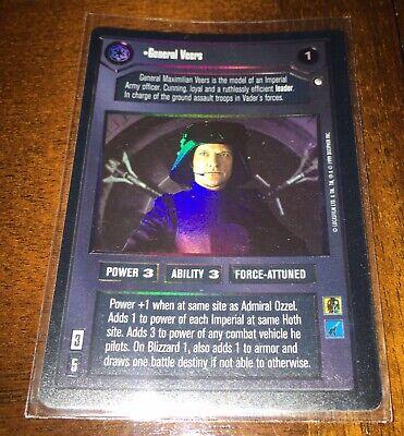 1 Star Wars CCG Reflections I SR FOIL General Veers
