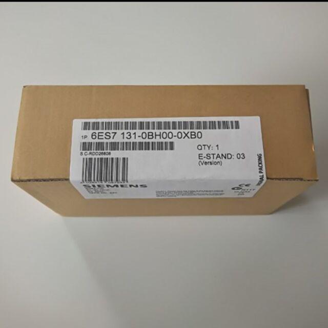 New In Box Siemens 6ES7 131-0BH00-0XB0 6ES7 131-0BH00-0XB0 1 year warranty