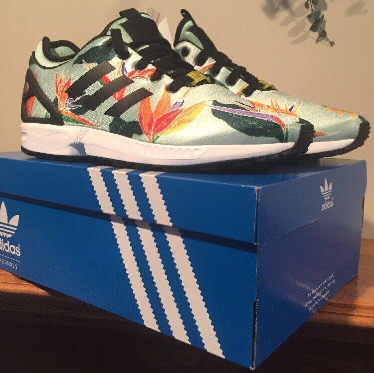 "classic fit 40931 1d1ce Adidas zx flusso pn pn pn scarpe da uomo taglia 10,5 fiori b34468 floreale.  """