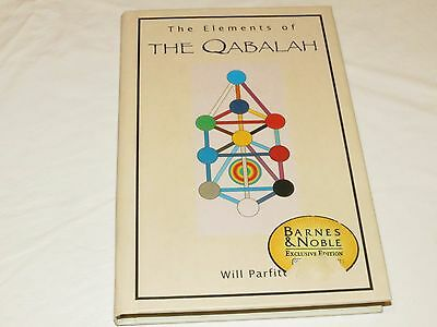 The Elements of Qabalah Will Parfitt Barnes Noble hardcover book harmoney life